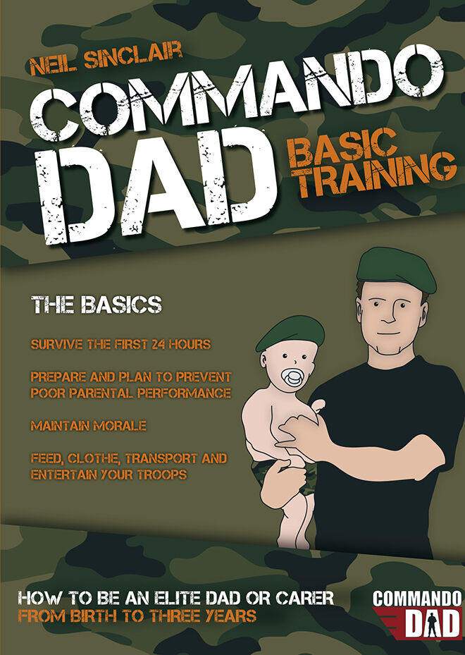 Commando Dad_COVER.indd