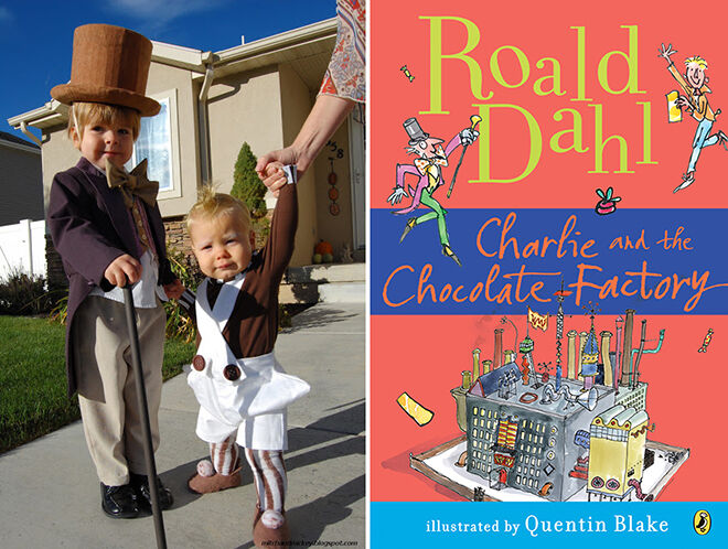 The best DIY book week costumes: Charlie and the Chocolate Factory | Mum's Grapevine