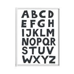 Etsy Alphabet Print
