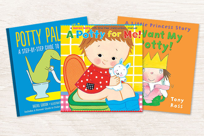 Best Books for Toilet Training Tots