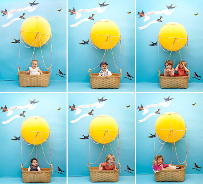 13 DIY Balloon Projects: A cute photobooth idea for the kidies party | Mum's Grapevine