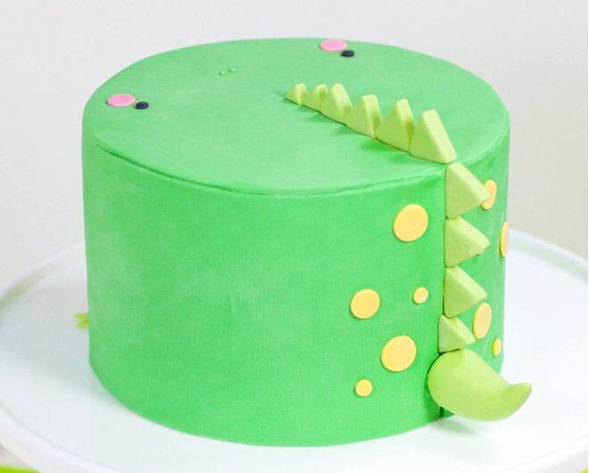 Birthday Cakes for Boys: Dinosaur Cake by Whipped Bake Shop   Mum's Grapevine