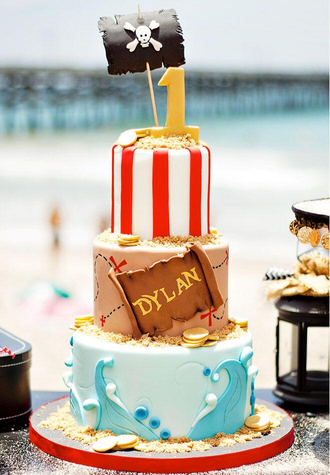 Birthday Cakes for Boys: Pirate Cake via Hostess with the Mostess   Mum's Grapevine