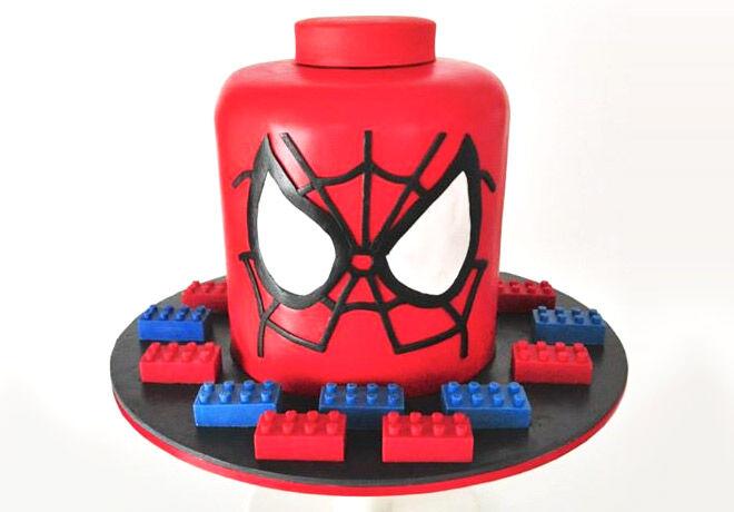 Birthday Cakes for Boys: Spiderman Cake via Tortissime   Mum's Grapevine