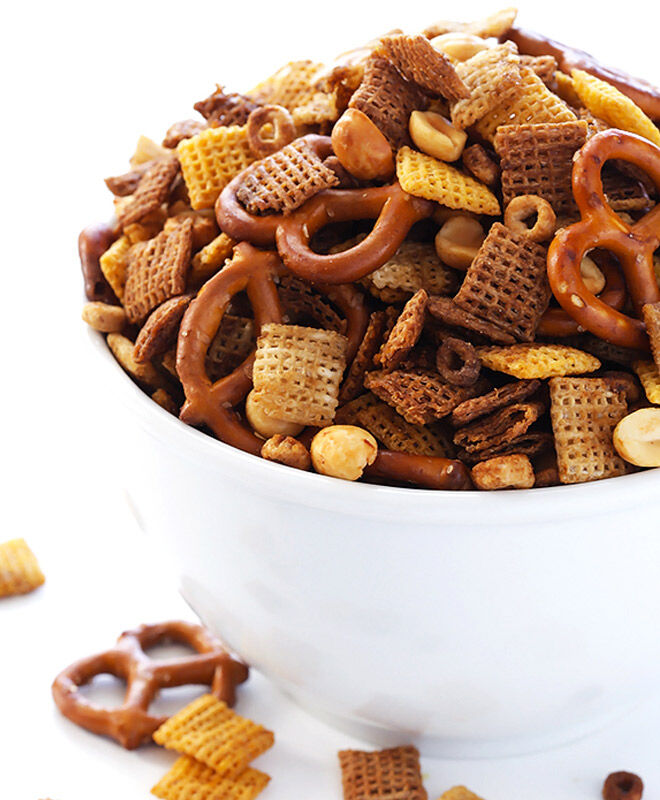 Cereal Snacks: Savoury Chex Mix | Mum's Grapevine
