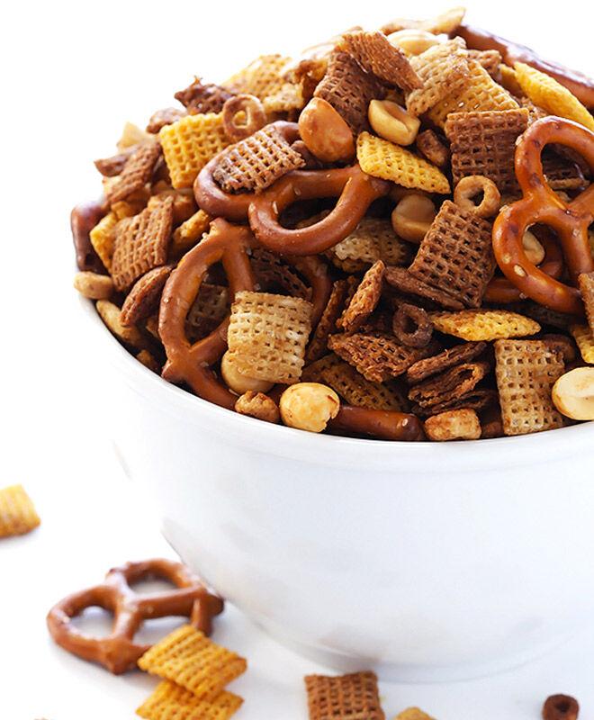 Cereal Snacks: Savoury Chex Mix | Mum's Grapevine