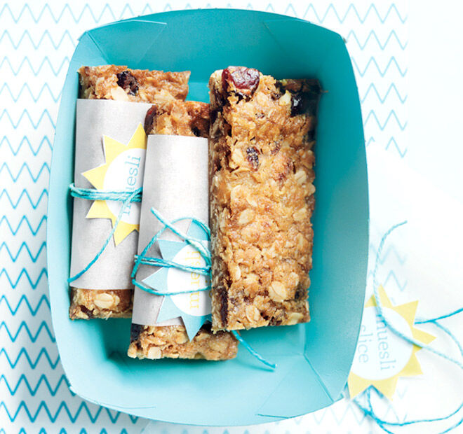 Nut-free Muesli Bar | Mum's Grapevine