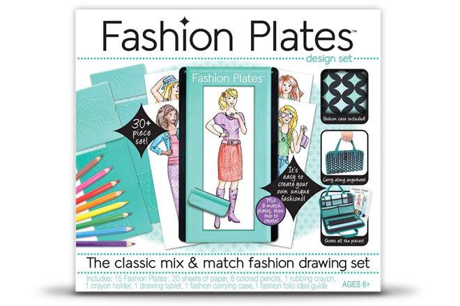 Fashion Plates Deluxe Kit, Kahootz