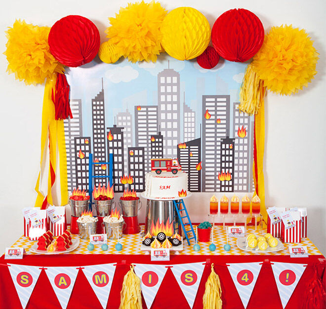 How To Host A Fireman Party