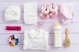 How to save money buying for a newborn