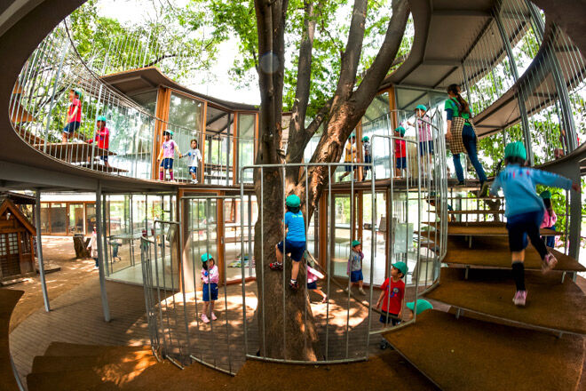 Kindergarten in Tokyo - Is this childcare of the future?