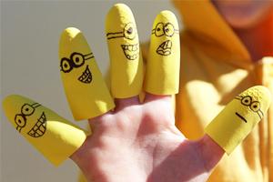 Easy craft ideas around Minions