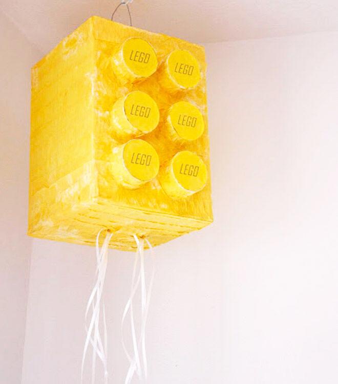 Lego DIY Pinata via Delia Creates