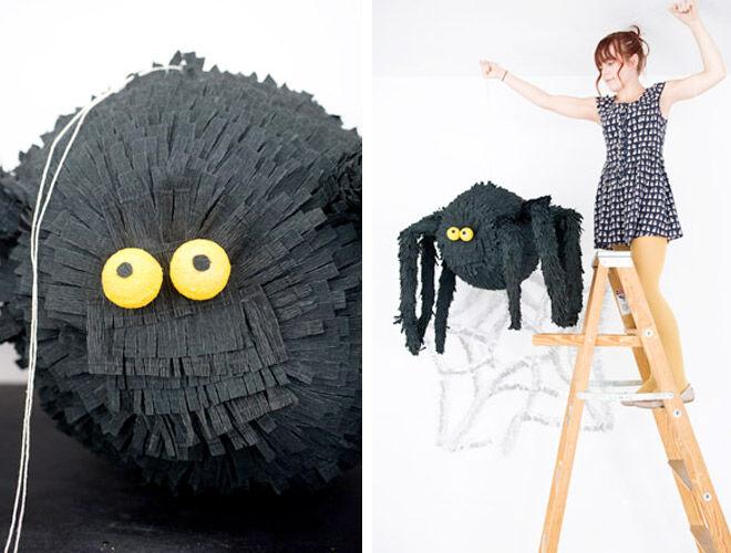 Spider DIY Pinata via Oh Happy Day