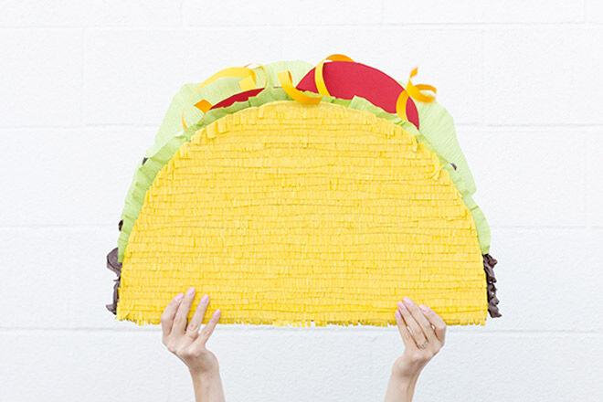 Taco DIY Pinata via Studio DIY