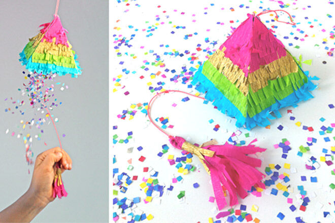 How to make a pinata tutorial via Happy Thought