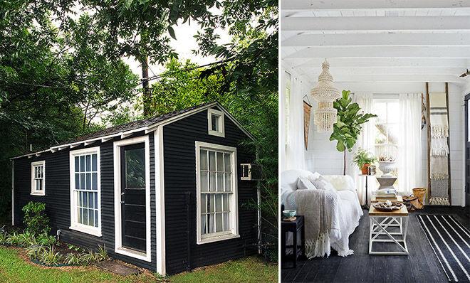 She shed - backyard studio