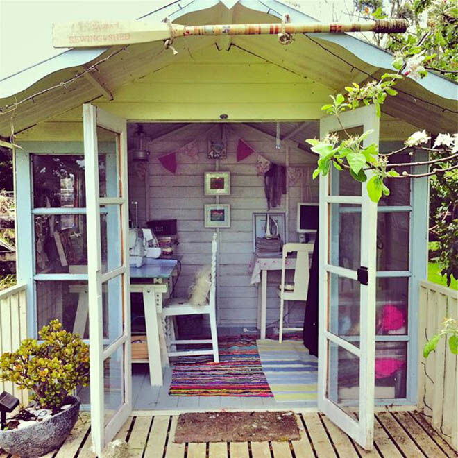 She shed - sewing shed