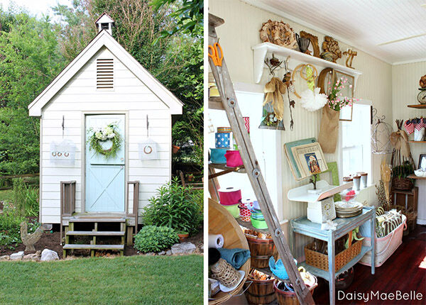 She Shed - Craft room