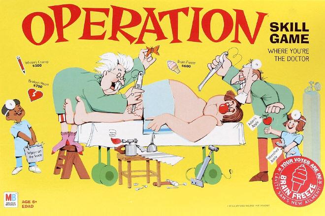 Original Operation Game