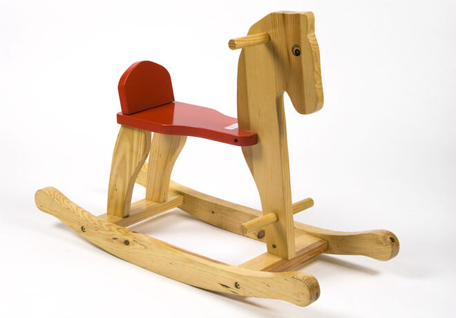 Looking at toys through time - The wooden rocking horse