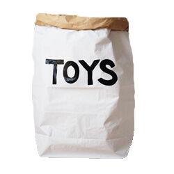 Black and White Toy Bag via Etsy
