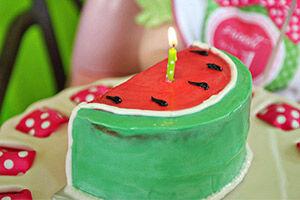 Watermelon Party: Kids Birthday Cake | Mum's Grapevine