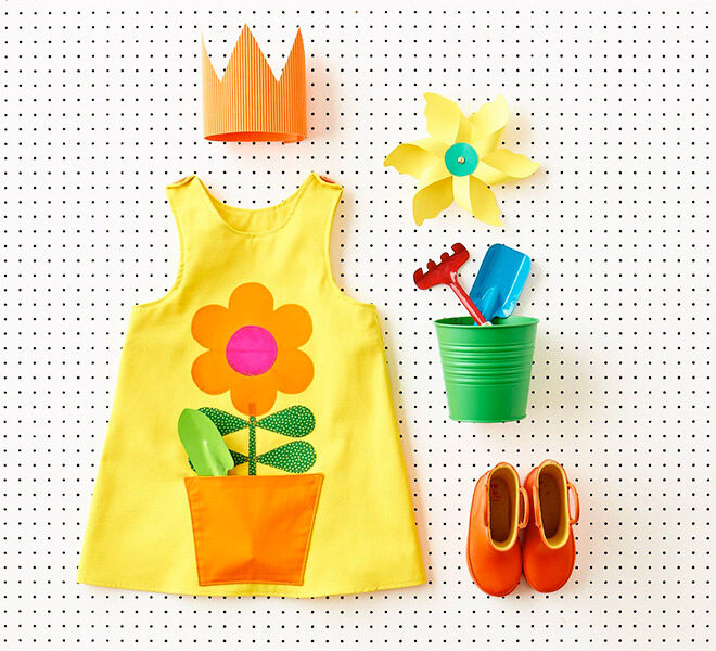 Flower pot dress from Featured in Wild Things: Funky Little Clothes to Sew