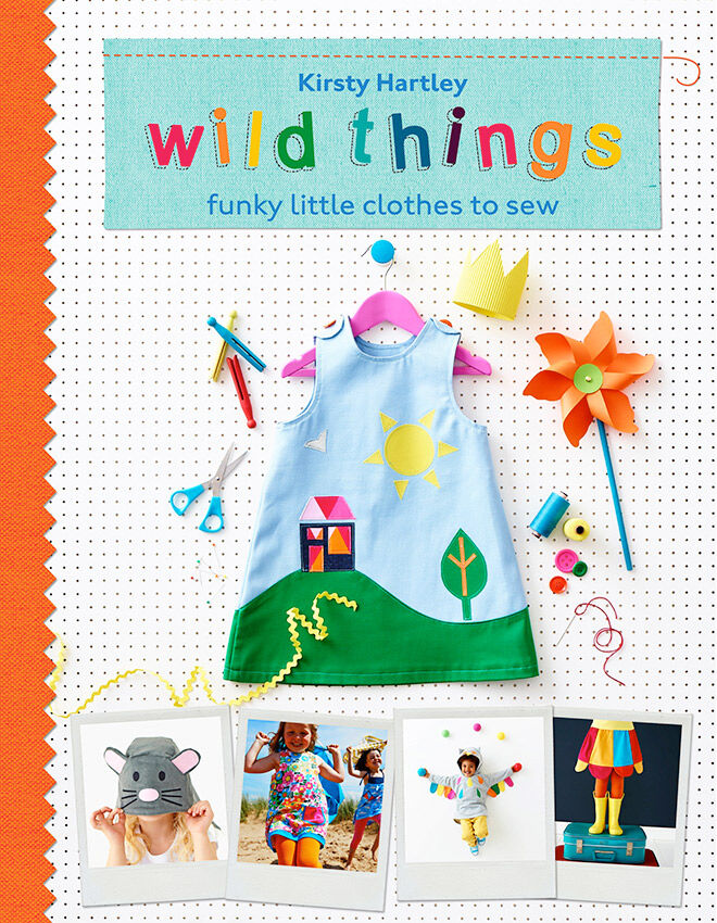 Book Cover Sewing Usa : Wild things funky little clothes to sew plus a giveaway