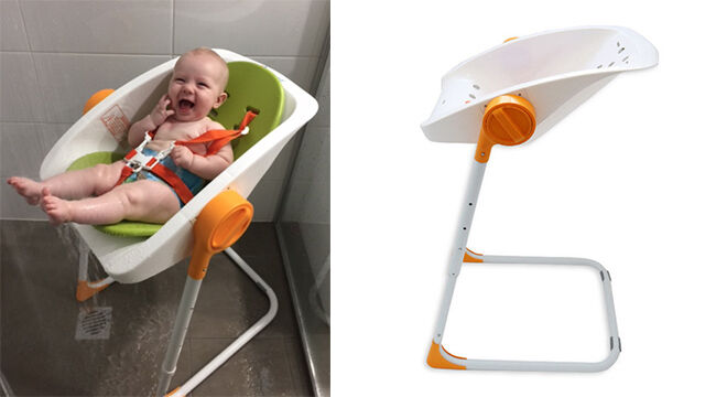 10 alternatives to the baby bath: The clever Charli Chair | Mum's Grapevine