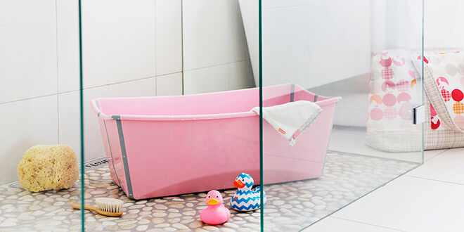 10 alternatives to the baby bath: Flexi tub | Mum's Grapevine