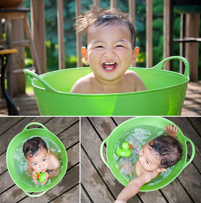10 alternatives to the baby bath: Tubtrug - Not just for toy storage! | Mum's Grapevine
