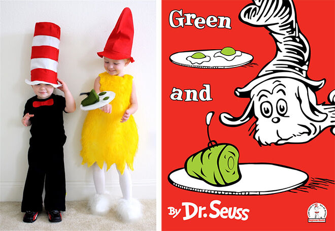 The best DIY book week costumes: Green Eggs and Ham| Mum's Grapevine