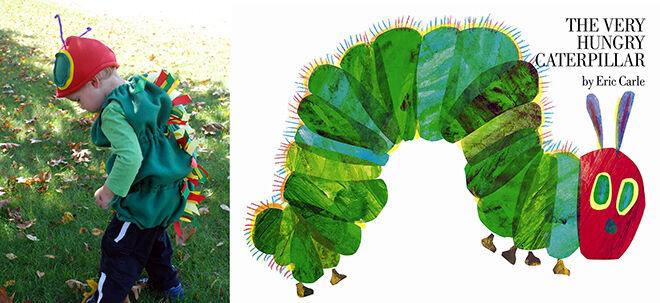 The best DIY book week costumes: Hungry Caterpillar | Mum's Grapevine