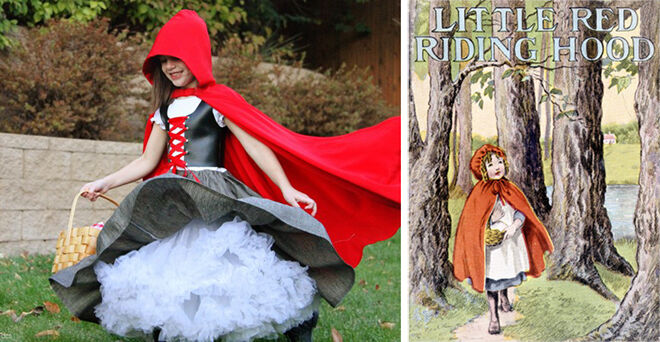 bookweek - little red riding hood