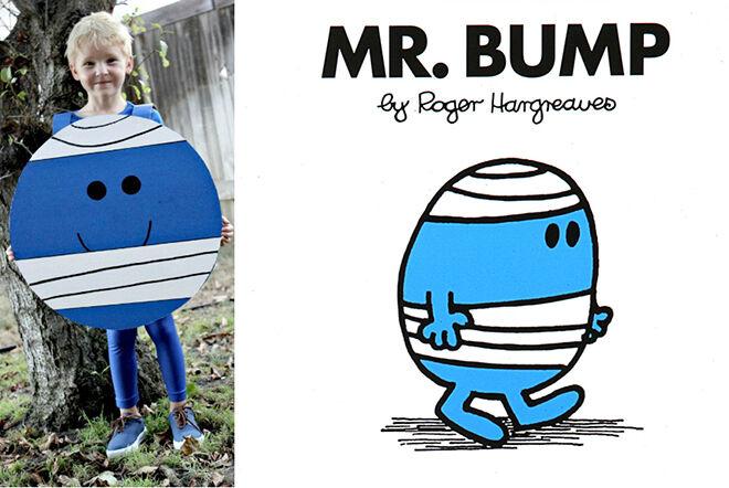 The best DIY book week costumes: Mr Bump | Mum's Grapevine