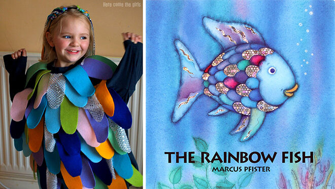 12 of the best diy book week costumes mums grapevine the best diy book week costumes rainbow fish mums grapevine solutioingenieria Gallery