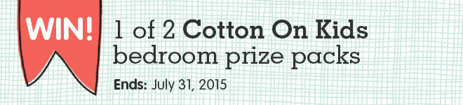 Win a Cotton On Kids Decor package