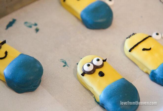 minion craft - biscuits