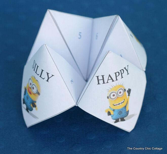 minion craft - fortune teller