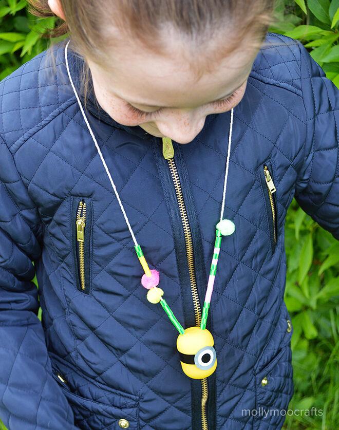 minion craft - necklace