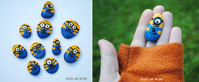 11 easy peasy minion craft ideas mums grapevine minion craft rocks solutioingenieria Gallery