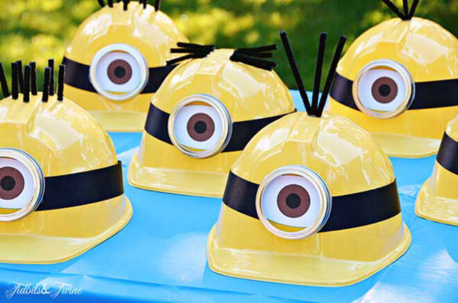 12 minion party must haves mums grapevine minion party hats easy peasy minion party craft idea mums grapevine solutioingenieria Gallery