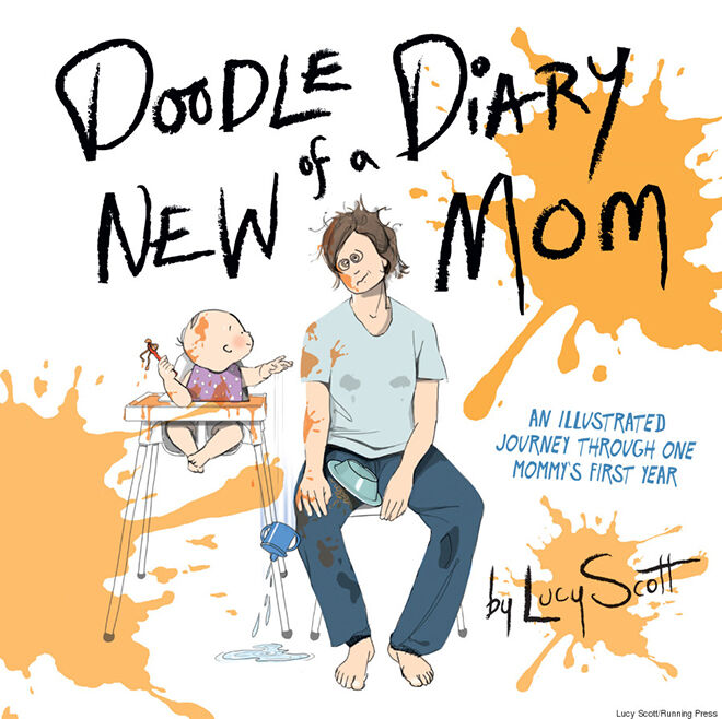 Doodle Diary of a New Mom | Mum's Grapevine