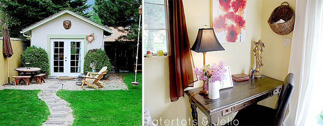 She Shed - Outdoor office space