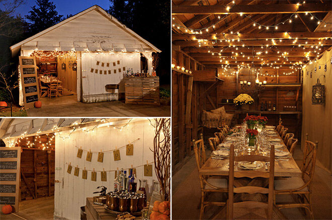 She Shed - Rustic party place