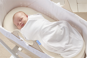 Transitioning swaddle from Grobag