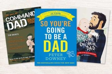 Top 10 books for new Dads
