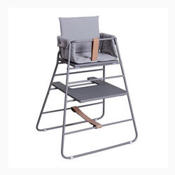 Dane Studio Modern Grey Highchair
