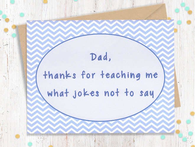 Our top picks of funny Father's Day cards on Etsy | Mum's Grapevine